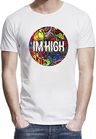 Amazon.com: Im High Dope Swag Hype Hipster Acid Drugs Music ...