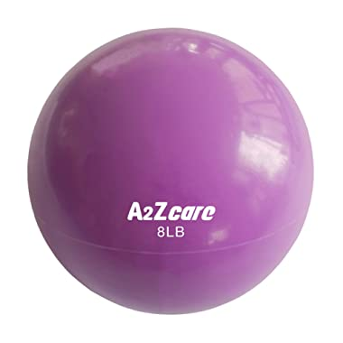 A2ZCARE Toning Ball - Soft Weighted Mini Ball/Medicine Ball