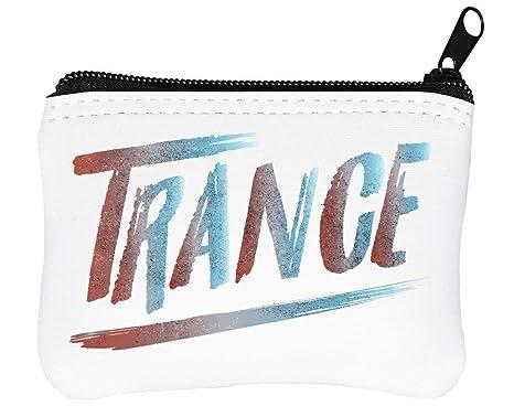 Trance Music Logo Billetera con Cremallera Monedero Caratera ...