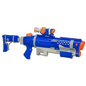 Nerf Super Soaker Shot Blast Water Gun Including Free Scope