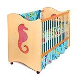 Amazon Price History for:Room Magic 4 Piece Crib Set, Tropical Seas