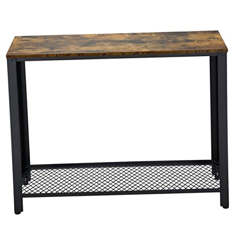 Amazon.com: Vintage Hight Leg Table Slim Rustic Console ...