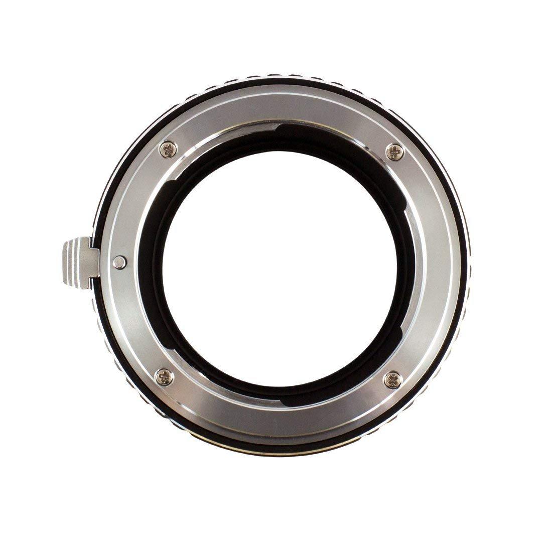 Adaptador de Lente Compatible para Lentes Canon FD y cuerpos de c/ámara Sony E Gobe