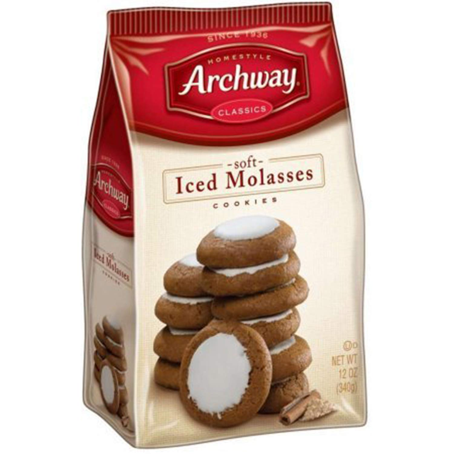 Archway Iced Molasses Cookies, 12 unidades: Amazon.com ...