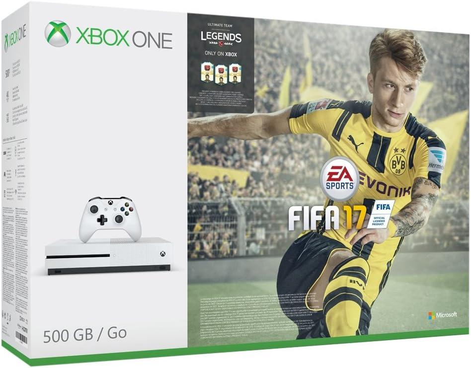 Xbox One S Fifa 17 Bundle (500 GB) [Importación Inglesa]: Amazon.es: Videojuegos