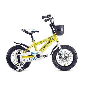 DT Carro de bebé 14/16 Pulgadas Pedal Infantil Bicicleta 3-5-6