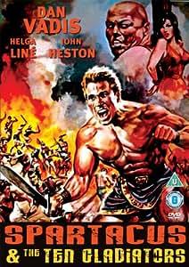 Spartacus And The Ten Gladiators (1964)(UK PAL Region 0)