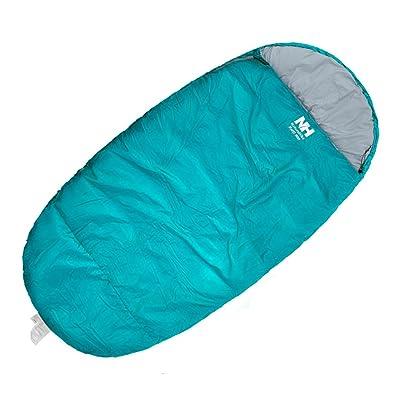 Grand sac de couchage Adulte Intérieur hiver épaississement chaud Camping extérieur Pause déjeuner Portable sac de couchage en coton unique