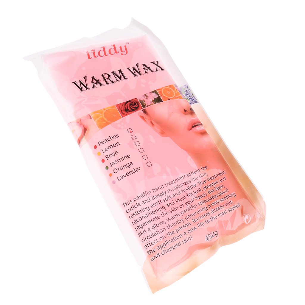 Jili Online Paraffin Wax Refill - Hands & Feet Liquid Paraffin Wax Bath Spa, Deeply Hydrates and Protects - Deep Yellow, as described