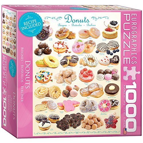 1000 piece puzzles donuts - 4