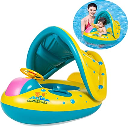 Amazon.com: EncoyKid - Flotador inflable para piscina y ...