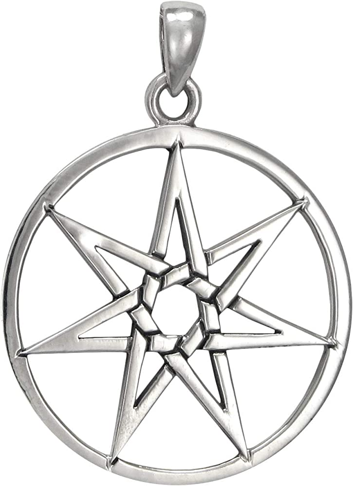 Antique Silver Five Pointed Star Charms Five Pointed Star Pendants 13 x 16 mm Double Sided