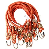 Heavy Duty 24'' or 2' Long x 1/2'' Dia Thick Bungee Cords Tie Down Cord Strap (10-Pc)