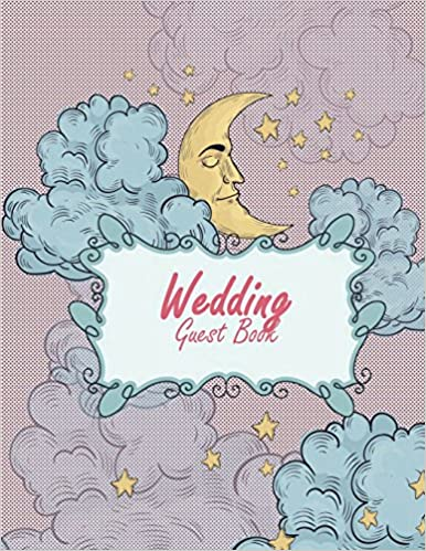 wedding guest book happy moon email address book and contact book