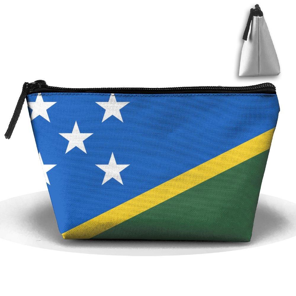 sweet-yz The Solomon Islands Flag Cosmetic Bags旅行ストレージポーチメイクアップオーガナイザー   B07C8QXRJJ