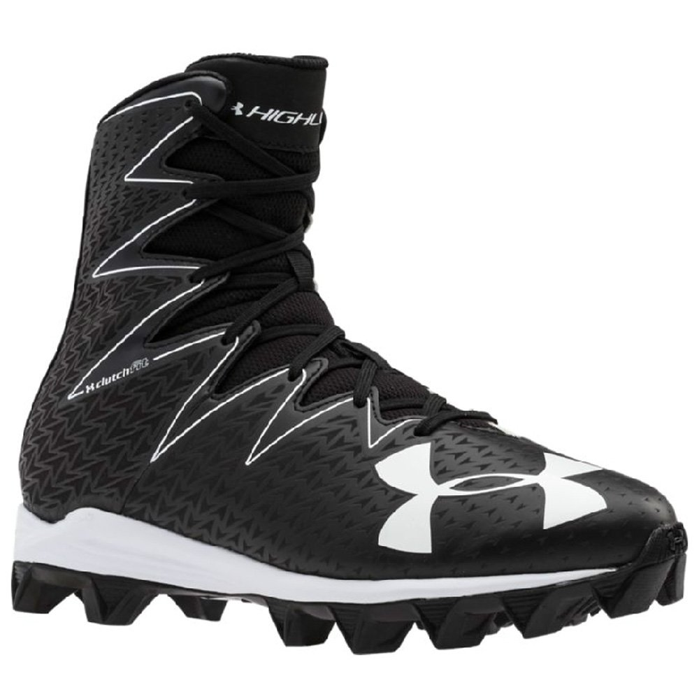 Under Armour Men's Highlight RM Football Cleat Black/White Size 6.5 M US by Under Armour