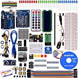 Kuman Project Super Starter Kit with Tutorials for Arduino UNO R3 Mega2560 Mega328, Nano UNO R3 included K4
