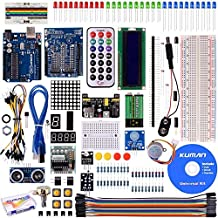 Kuman Project Super Starter Kit with Tutorials for Arduino UNO R3 Mega2560 Mega328, Nano UNO R3 included K4