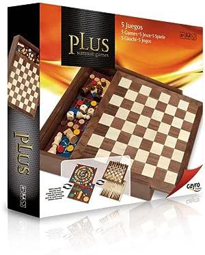 Cayro - 5 Juegos — Juego de observación y lógica - Juego Mesa - Desarrollo de Habilidades cognitivas e inteligencias múltiples - Juego Tradicional (1615): Amazon.es: Juguetes y juegos