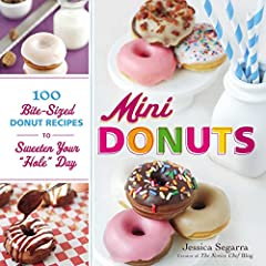 Say hello to a brand-new way to brighten your morning—or any time of day! Jam-packed with gooey jellies, oozing with rich custards and creams, and covered with mouthwatering toppings, these mini donuts are bursting with big flavor. From recip...