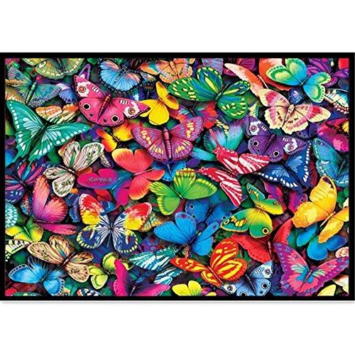 DIY 5d Diamond Painting Kits painting,Handgemachtes Klebebild runder Diamond Malerei Stickpackungen mit Digitale Set eingefugt Kreuzstich 8268,fur Home Dekoration (Spiegel Runden)