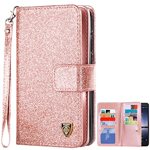 BENTOBEN Glitter Sparkly Leather Protective