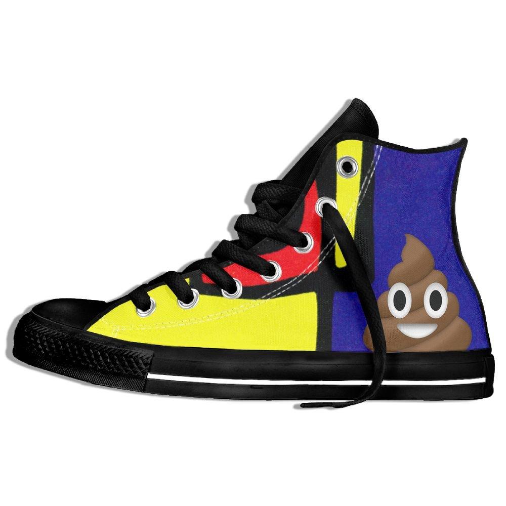 Emoji Poop Zapatillas deportivas de lona clásicas clásicas clásicas de alta calidad 41aa9c