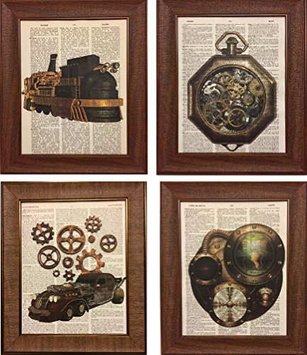 Bold, Edgy And Unique Steampunk Wall Art