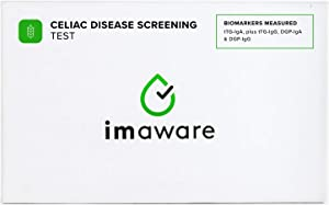 imaware™ Celiac Test | at-Home, Pain Free Blood Test | Accurate Results with Easy to Understand Report | Tested at CLIA Certified Labs
