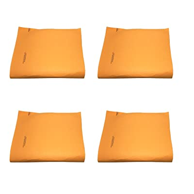 "Orange Super Chamois Large 20"" X 27"" Super Absorbant Cloth- 1,2,4 and 10 Pack Shammy-Original Made in Germany (Orange 4 Pack): Automotive"
