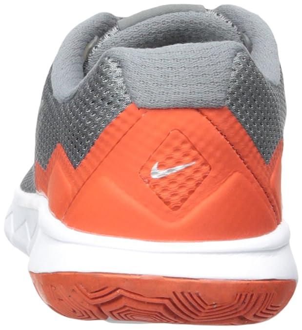 Nike Flex Experience 4 (GS) (4 M UbiG, GrisNaranja): Amazon