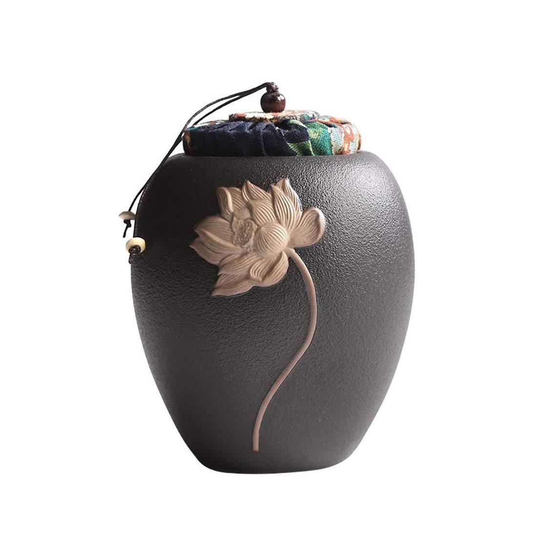 LiRongPing Creative Ceramic Moisture-Proof Pet Commemorative Jar Commemorating Cat Dog Small Animal Coffin