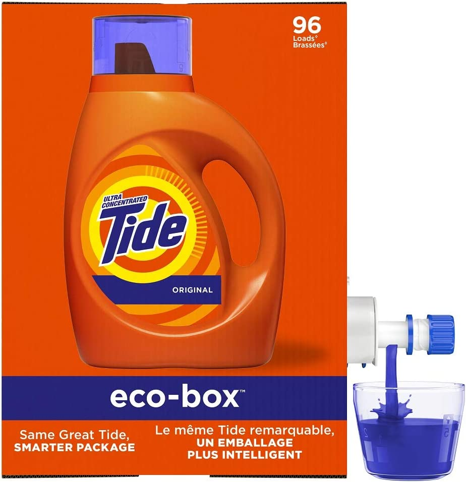 Tide Laundry Detergent Liquid Eco-Box