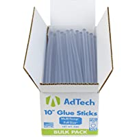 Adtech Full-Size Multi-Temp 5-lb Box All-Purpose Glue Sticks-7/16 X10 5lb 10 inch, Clear(Packaging May Vary)