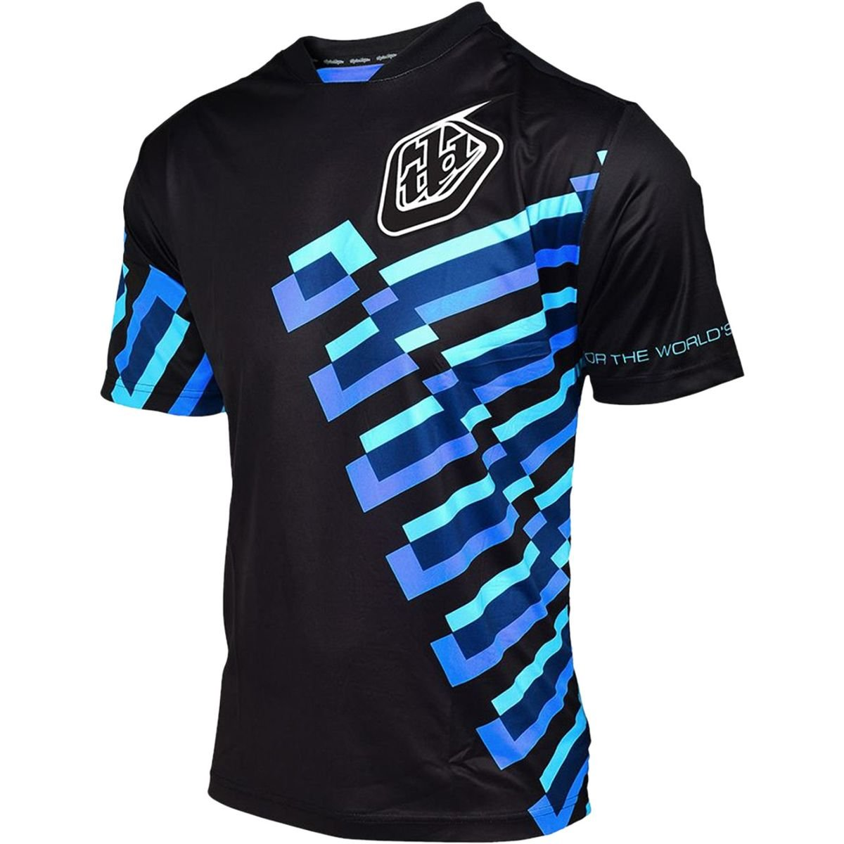 Troy Lee Designs Trail-Jersey Kurzarm Skyline Schwarz Gr. L