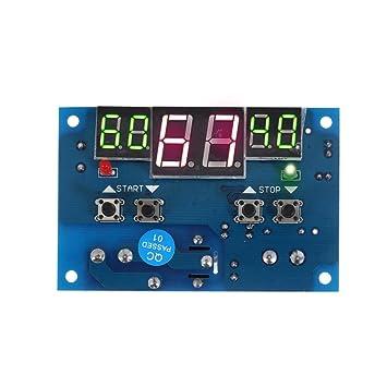 soxid (TM) 12 V Digital termómetro termostato controlador de temperatura calefacción refrigeración Control Stazione