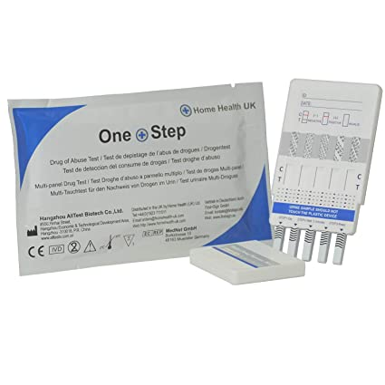 Drug Test Kits >> One Step 5 X Drug Test Kits Urine 10 In 1 Panel Kit Tests For Heroin Opiates Cannabis Cocaine Speed And More