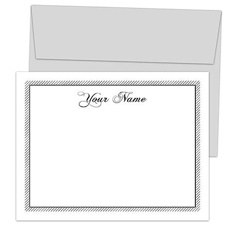 Amazon.com: Juego de 10 tarjetas de notas personalizadas con ...