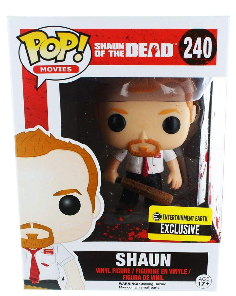 Funko 6129 Shaun Of The Dead: Pop! Vinyl Figures: Bloody Shaun