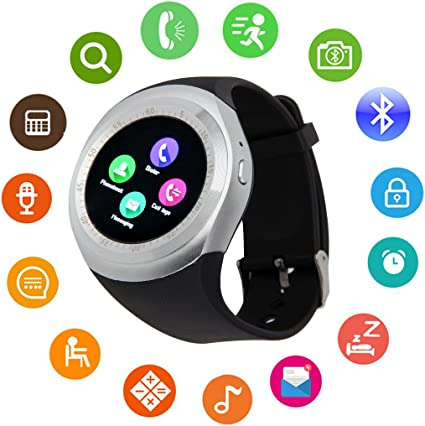 Bluetooth Smart Watch Touch Screen DMDG Smart Fitness Watch Touch Screen Unlocked Watch Cell Phone Sim Card Slot,Smart Wrist Watch Kids Girls Boys Men ...