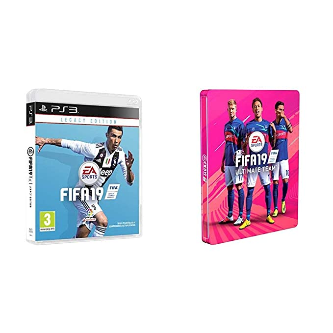 FIFA 19 Edición Legacy + Steelbook (Edición Exclusiva Amazon ...