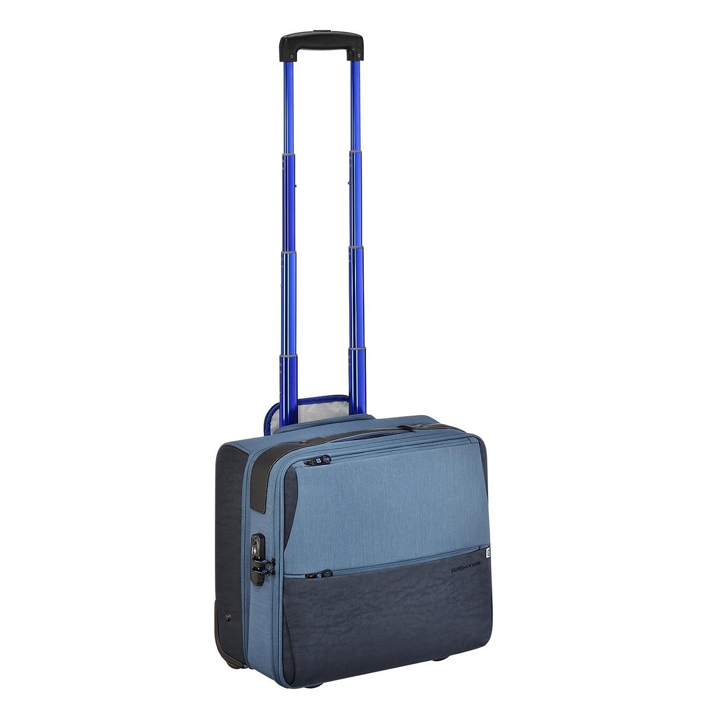 [ゼロハリバートン] ZEROHALLIBURTON グリニッジシリーズ 機内持ち込み可能サイズ 2輪 キャリーオン バッグ TSAロック付[並行輸入品] B06Y2P6VXYブルー