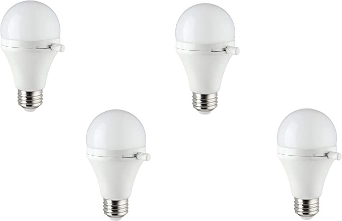 Warm White 4 Pack Sunlite ShabBulb 40 Watt Equivalent Shabbat Permissible LED Light Bulb 7 Watt