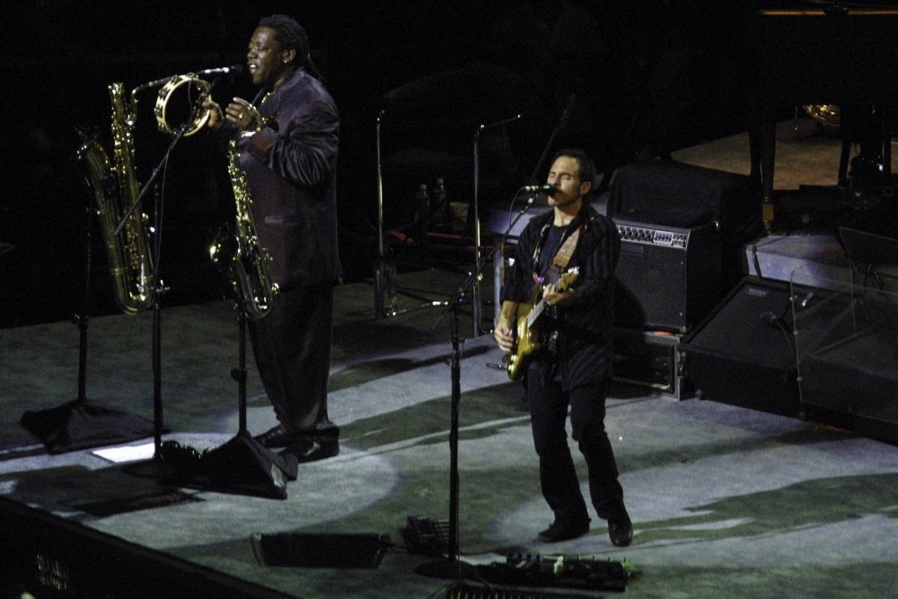 Bruce Springsteen and the E Street Band performing at Madison Square Garden Photo Print (30 x 24)