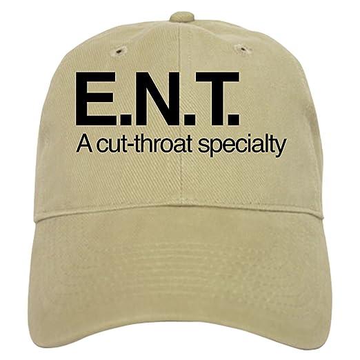 CafePress - ENT A Cut-Throat Specialty - Baseball Cap with Adjustable  Closure e041d25cb1d