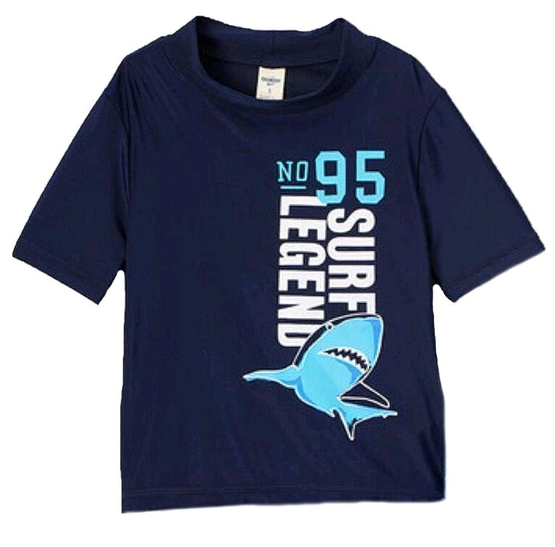 Navy OshKosh BGosh Boys Shark Rashguard