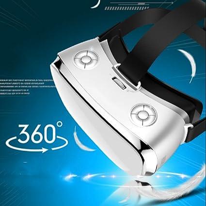 Con Protección Para Los Ojos Auriculares VR Gafas 3D Visualización En 360 HD Inmersivo Realidad Virtual