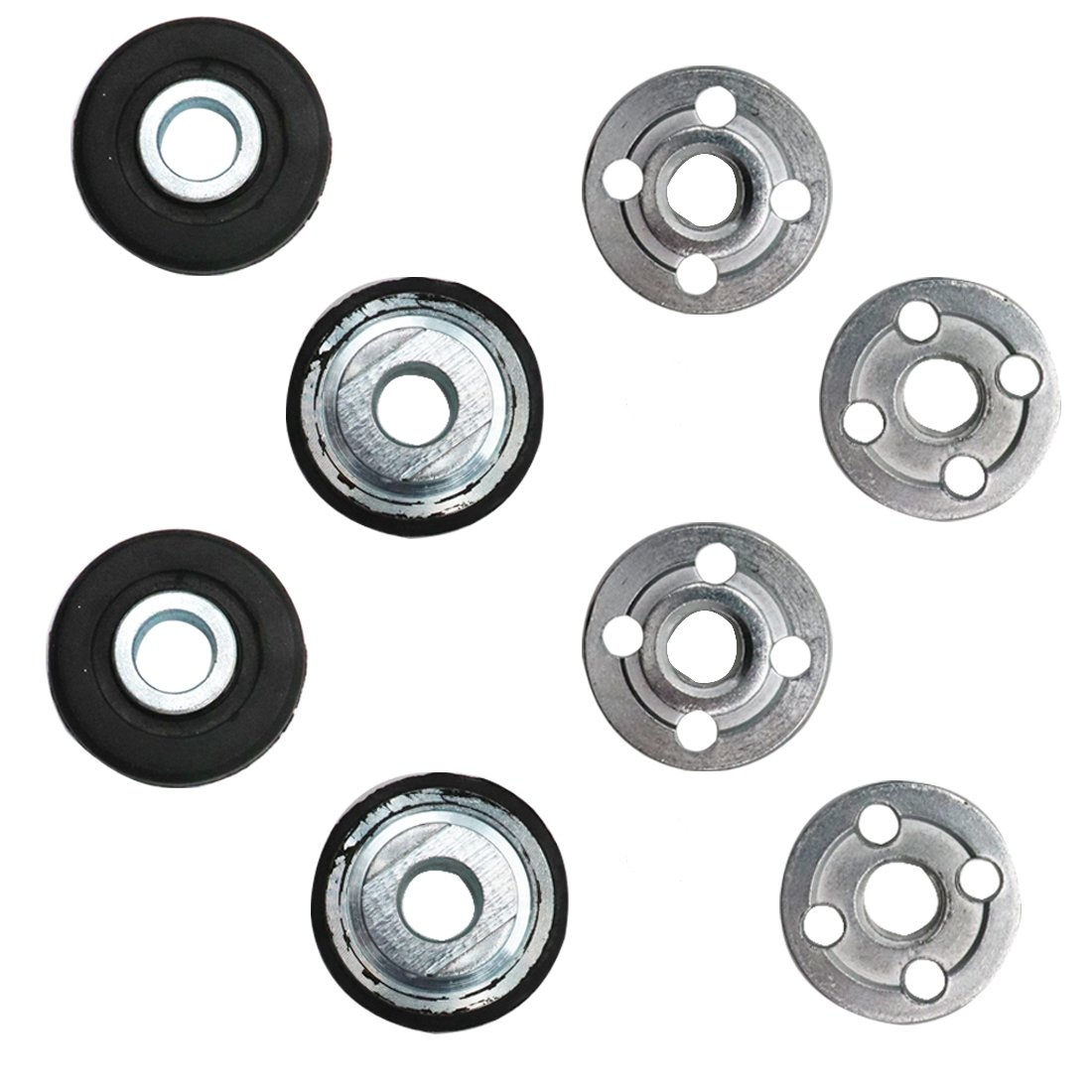 ZXHAO 9523 Electrical Angle Grinder Fitting Part Inner Outer Flange 4pair