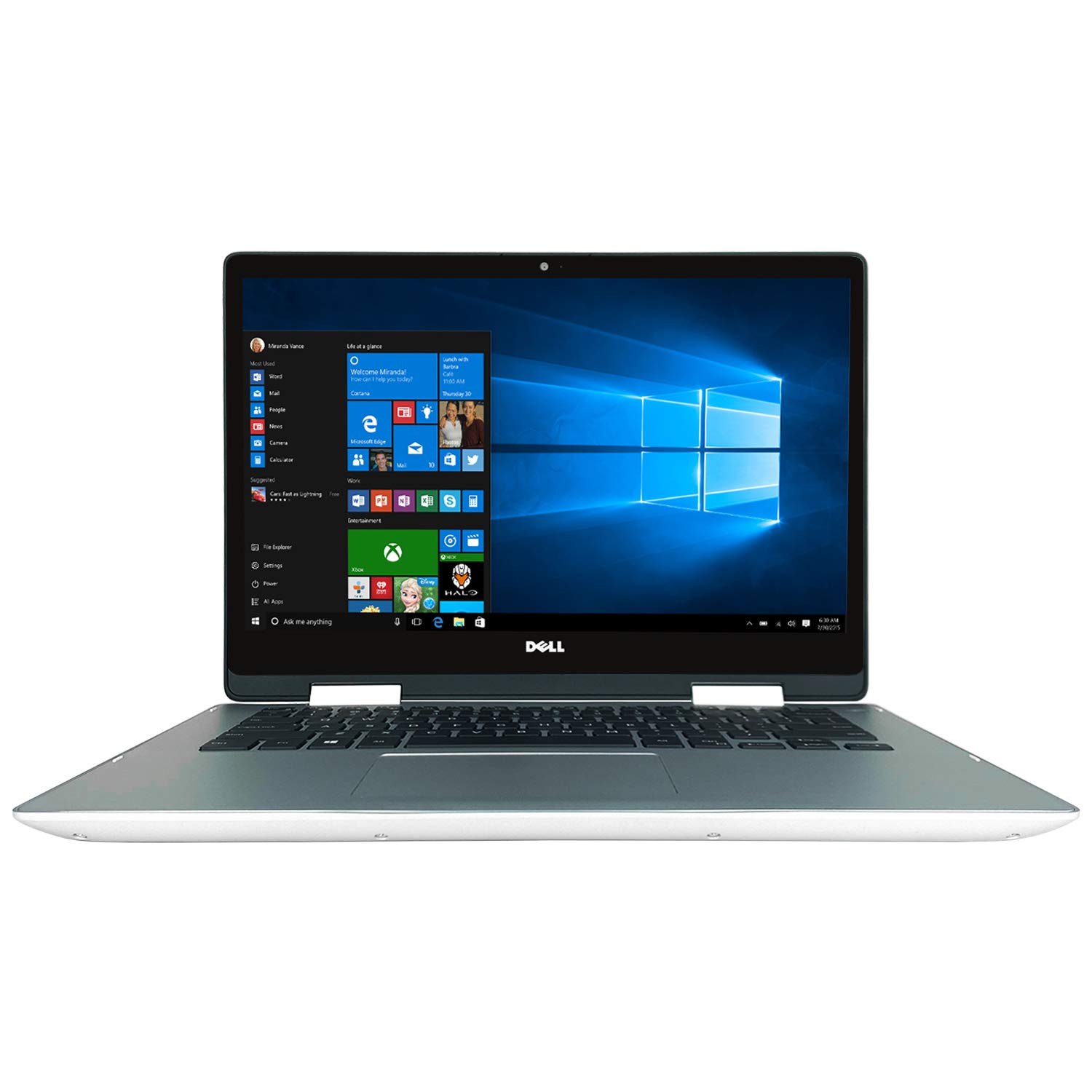 Dell Inspiron 5491 14 5000-Series FHD Multi-Touch 2-in-1 Laptop - 10th Gen Intel Core i7-10510U Quad Core CPU up to 4.90 GHz, 16GB DDR4 RAM, 512GB SSD, Intel UHD Graphics 620, Windows 10 Home