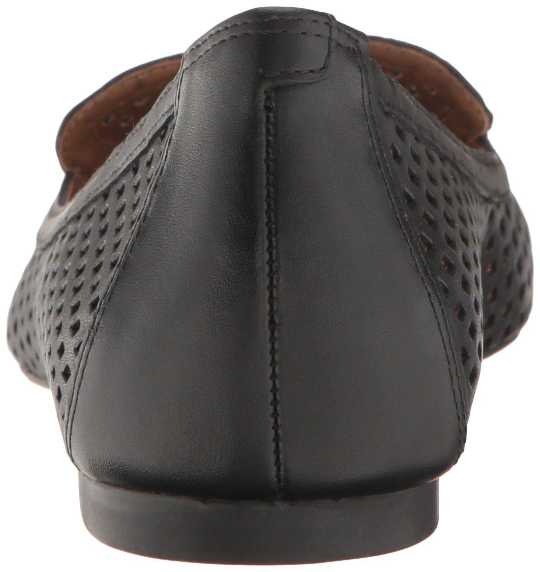 French Sole FS/NY Women's Vandalay Pointed Toe Flat B01LXA3ZBW 6.5 B(M) US|Black Leather